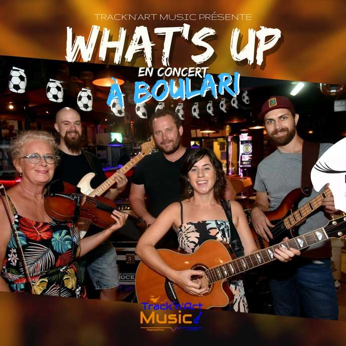 "Concert pop-rock ""Whats'Up"" à Boulari"