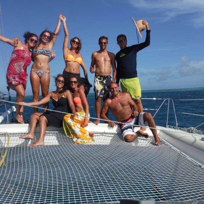 Sortie catamaran à la journée - Aïto Charter