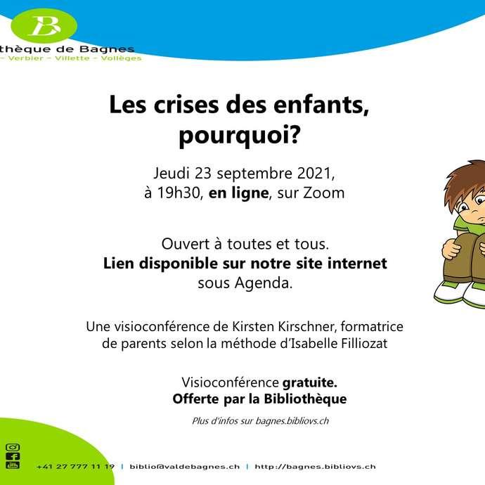 """Filliozat-Konferenz : """"Les crises des enfants, pourquoi ?"""""""