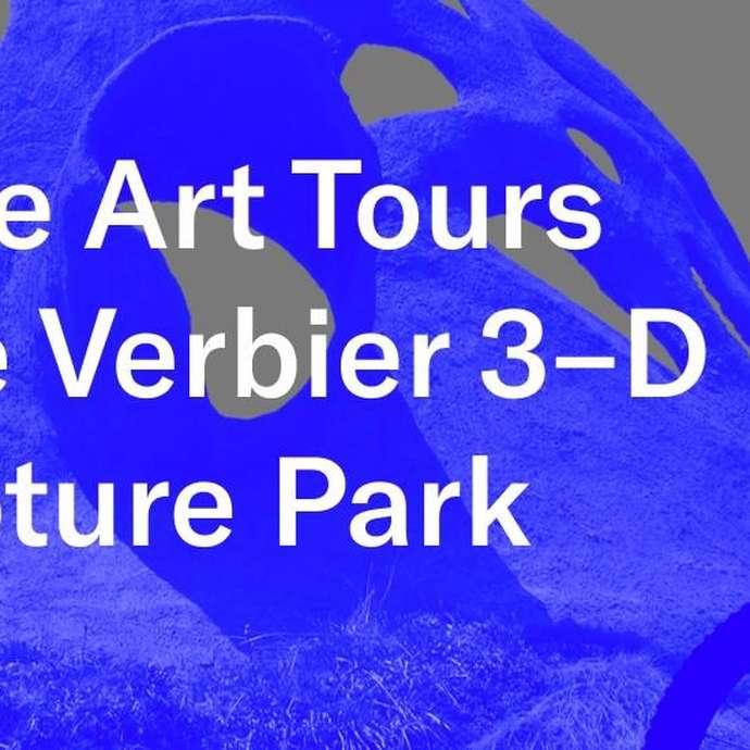 E-Bike Art Tours du Verbier 3-D Sculpture Park