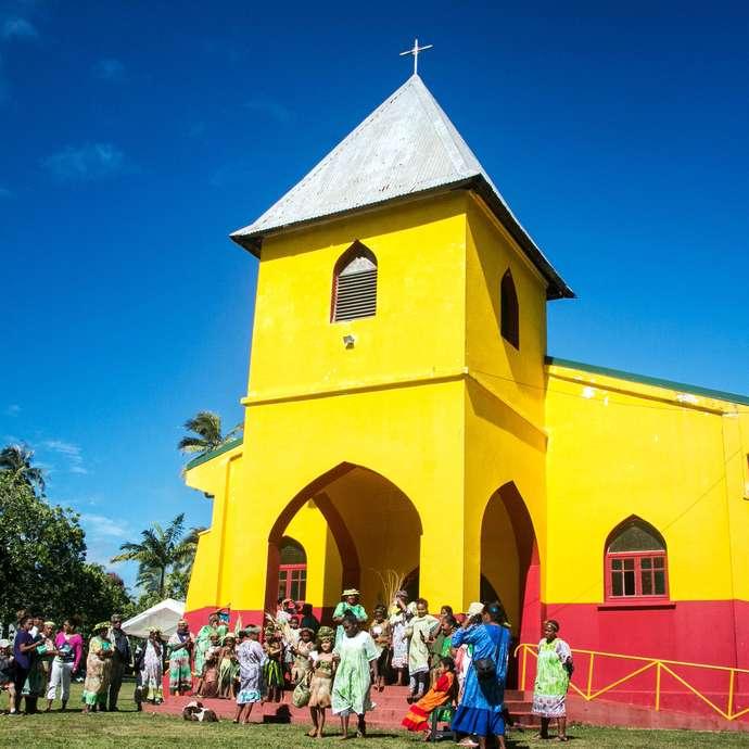 Église du Sacré Cœur d'Unia