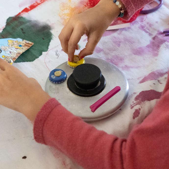 Atelier estival enfants - Recup' Art