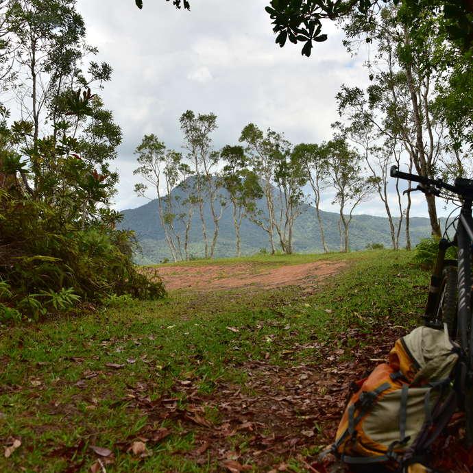 VTT Piste Panoramique (avec extension par le col Ravaux) Parc des Grandes Fougères