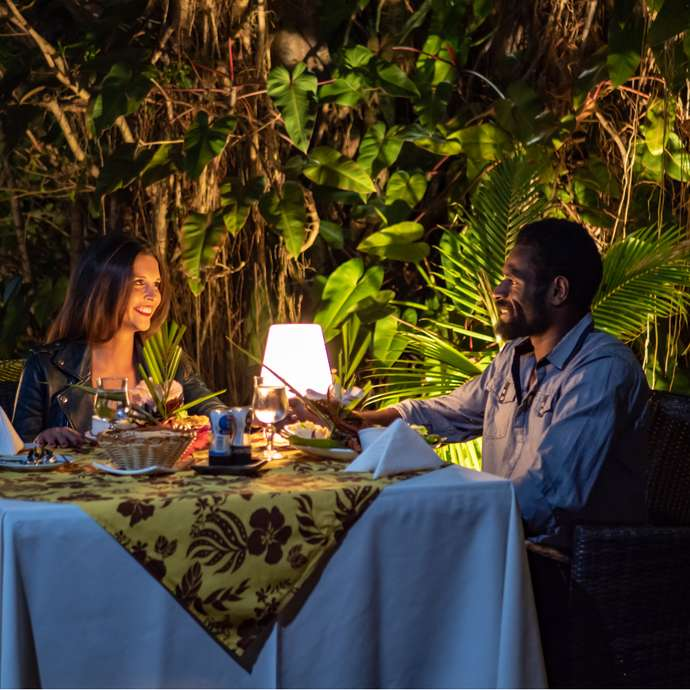"Spécial Buffets au restaurant Le ""Ka-Mâ"" du Kanua Tera Ecolodge"