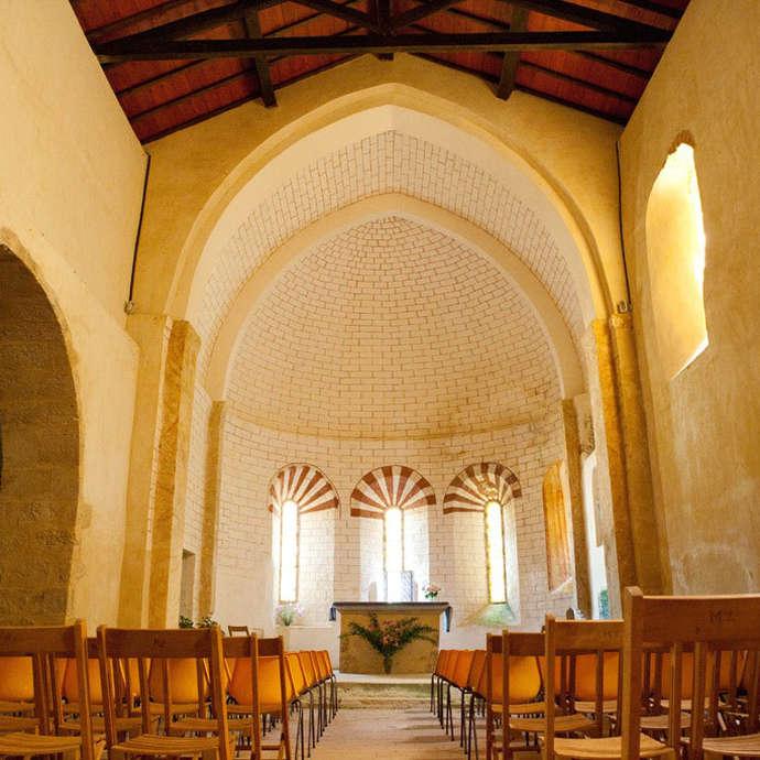 L'Eglise de Beaussiet à Mazerolles