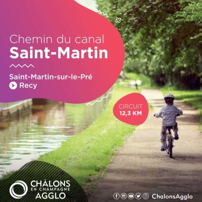 Chemin du canal Saint-Martin