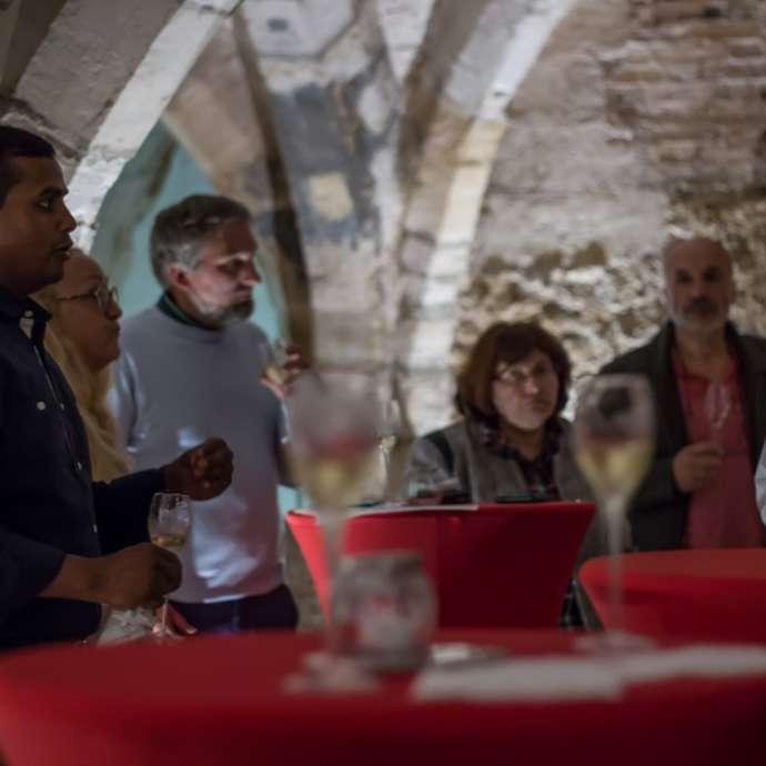 Dégustation dans les Caves Médiévales