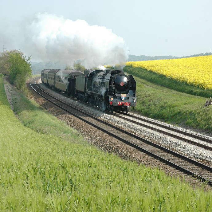 Chemins de Fer du Creusot - Locomotive 241 P 17