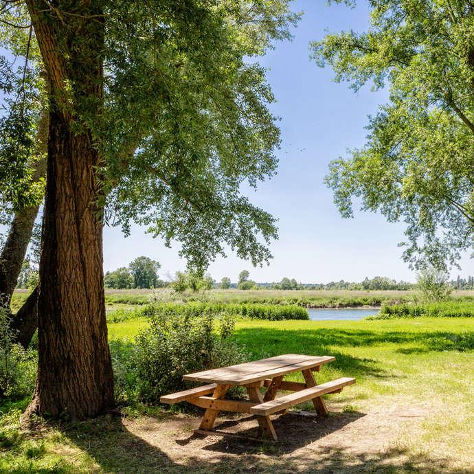 Le halage de la Sarthe et Sablières