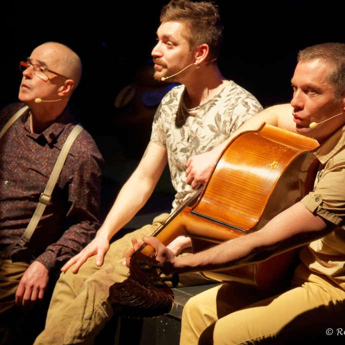 """Jac Livenais et ses musiciens jouent """"Le bal des petites bêtes"""""""