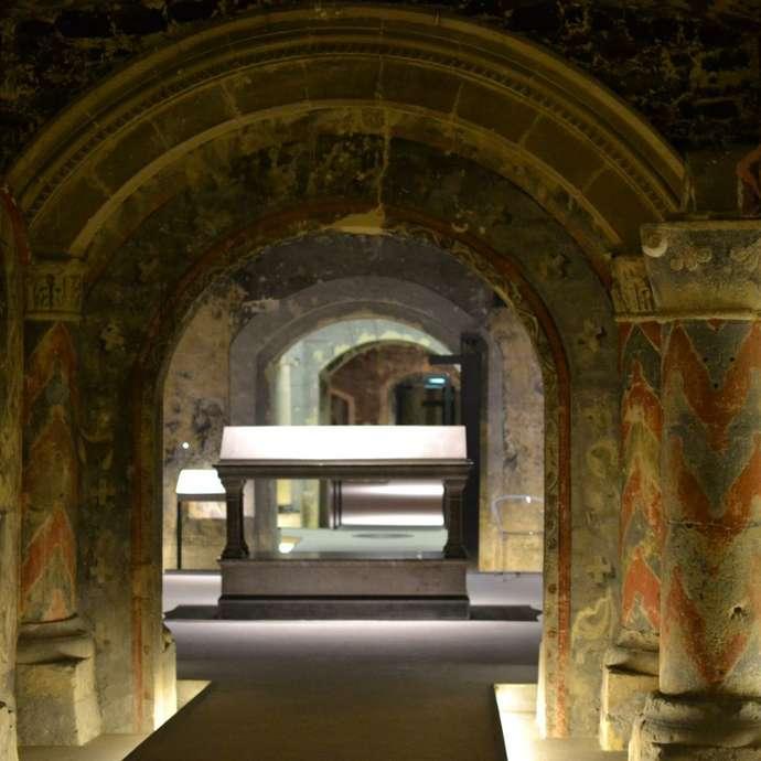 JOURNEES NATIONALES DE L'ARCHEOLOGIE : LA CRYPTE